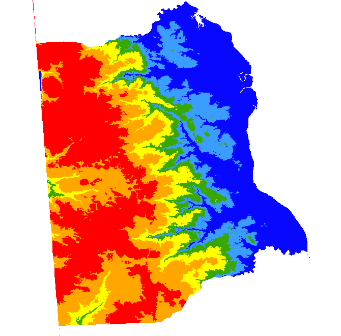 Digital Water Table Data For Kent County, Delaware