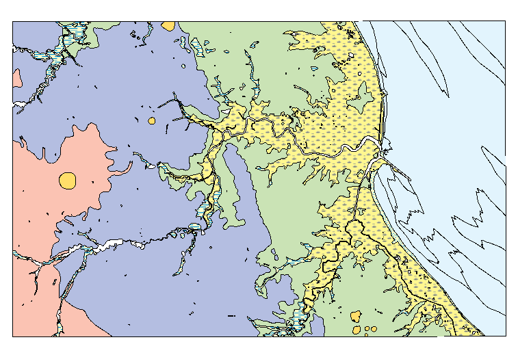 DGS Geologic Map No 8 MilfordMispillion River Quadrangles