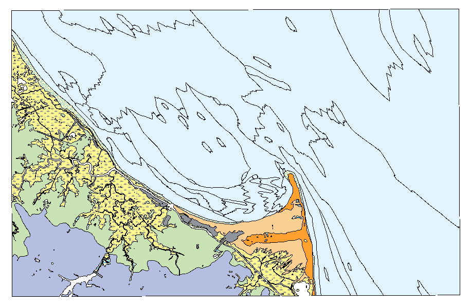Dgs Geologic Map No 12 Lewes Cape Henlopen Area Dataset The