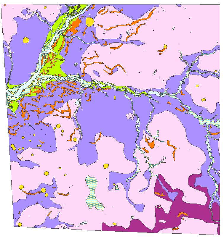 DGS Geologic Map No 22 Sharptown Laurel Hebron and Delmar