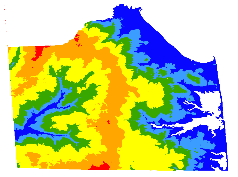 Digital Water Table Data For Sussex County Delaware