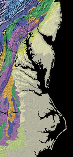 The Geology of North America An Overview//Book and Maps